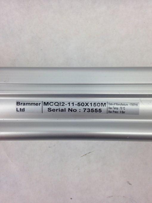 BRAMMER MCQI2-11-50X150M AIR CYLINDER (H349) 2