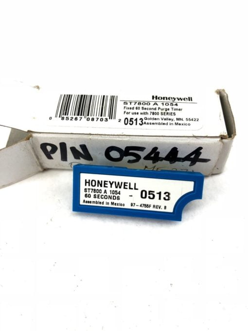 NEW IN BOX HONEYWELL ST7800-A-1054 FIXED 60 SECOND PURGE TIMER, FAST SHIP! H349 2