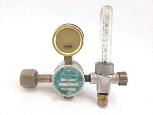 USED HP AIR PRODUCTS MODEL 3170 / 7501 GAS PRESSURE VALVE GAUGE 50PSIG (B214) 2