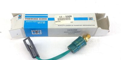 NEW IN FACTORY BOX! GENUINE THERMO KING 44-5508 HPCO SWITCH FAST SHIPPING! (F4) 1