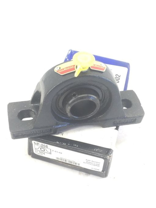 SEALMASTER GOLD LINE NP-205 25mm PILLOW BLOCK BEARING (J18) 1