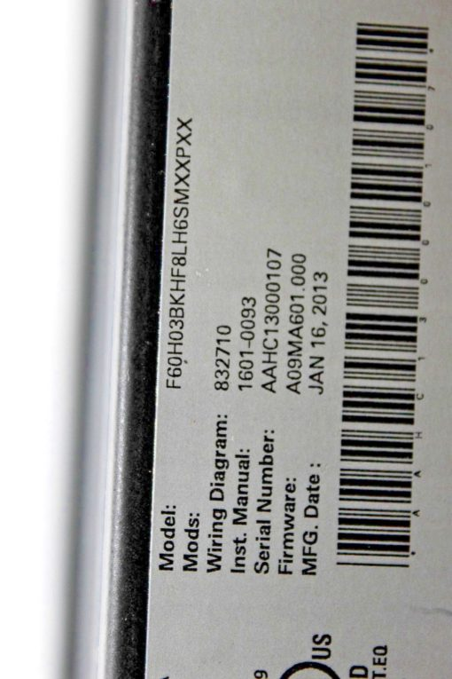 GE GENERAL ELECTRIC F60-H03-BKH-F8L-H6S-MXX-PXX FEEDER PROTECTION SYSTEM! (B138) 4