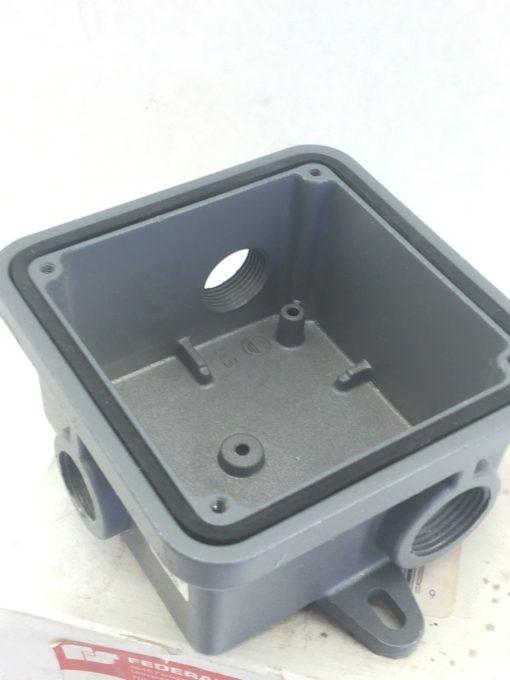 FEDERAL SIGNAL WB GREY WEATHERPROOF BOX (F289) 4