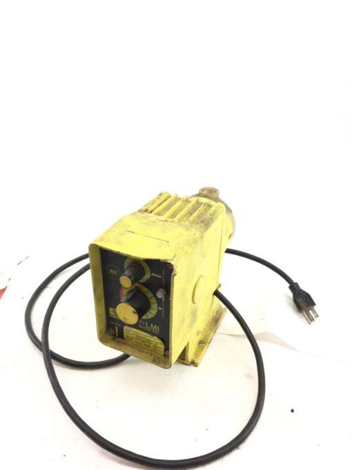 LMI MILTON ROY A141-151 PUMP, METERING, 115 V, 1 AMP, 250 PSI, 50/60HZ, (B368) 1