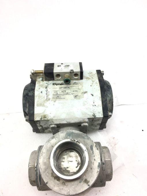 """USED DynaQuip AP148DA Pneumatic Actuator 80PSI, 2"""", 3 Way, FAST SHIP! B368 1"""