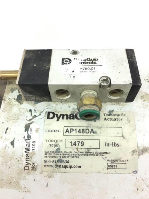 """USED DynaQuip AP148DA Pneumatic Actuator 80PSI, 2"""", 3 Way, FAST SHIP! B368 2"""