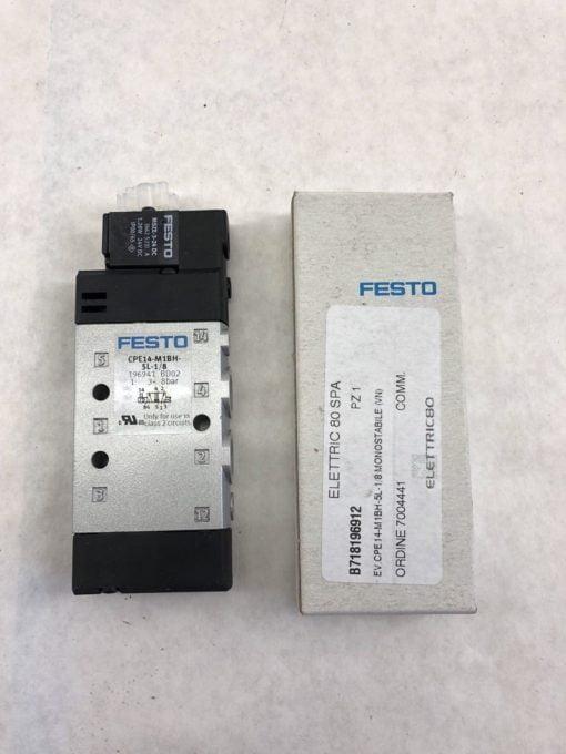 FESTO CPE14-M1BH-5L-1/8 SOLENOID VALVE (J30) 1