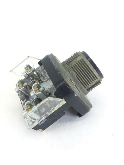 ALLEN BRADLEY 800T-A BLACK EXTENDED PUSH BUTTON WITH XA CONTACT BLOCK NEW! (H36) 1