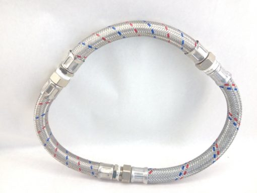 """OVER-BRAIDED FLEXIBLE METAL CONDUIT with FITTINGS """" L (B39) 1"""