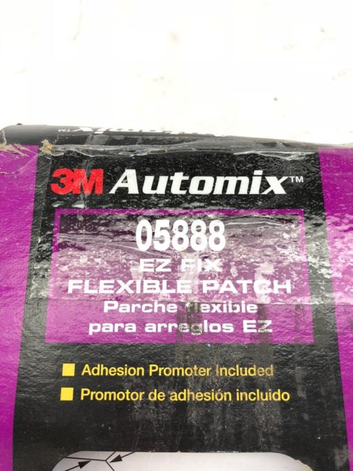NEW IN BOX 3M 05888 FLEXIBLE BUMPER PATCH, BLACK AND RED, FAST SHIP! (B459) 2