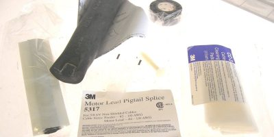 3M MOTOR LEAD PIGTAIL SPLICE KIT 5317 CONTAINS MATERIALS FOR 3 SPLICES (F26) 1