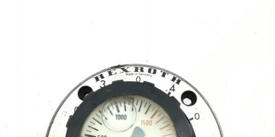 USED REXROTH PRESSURE GAUGE 0-2300 PSI MS2A20/1400, FAST SHIPPING! (B369) 1