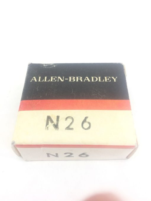 ALLEN BRADLEY N26 THERMAL OVERLOAD HEATER ELEMENT NEW IN BOX LOT OF 9 (SB9) 1