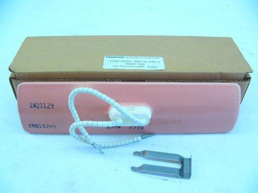 TEMPCO ZM21129 CORAL 650W 230V NEW IN BOX!!! (F206) 2