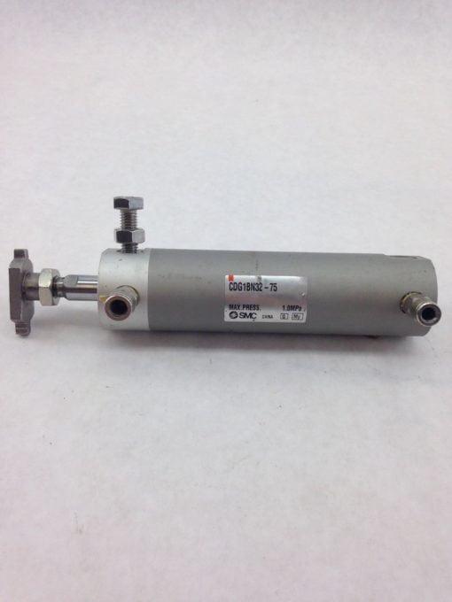SMC CDG1BN32-75 AIR CYLINDER MAX PRESS. 1