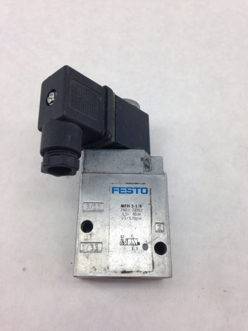 FESTO MFH-3-1/8 SOLENOID VALVE MFH31/8 (A853) 1