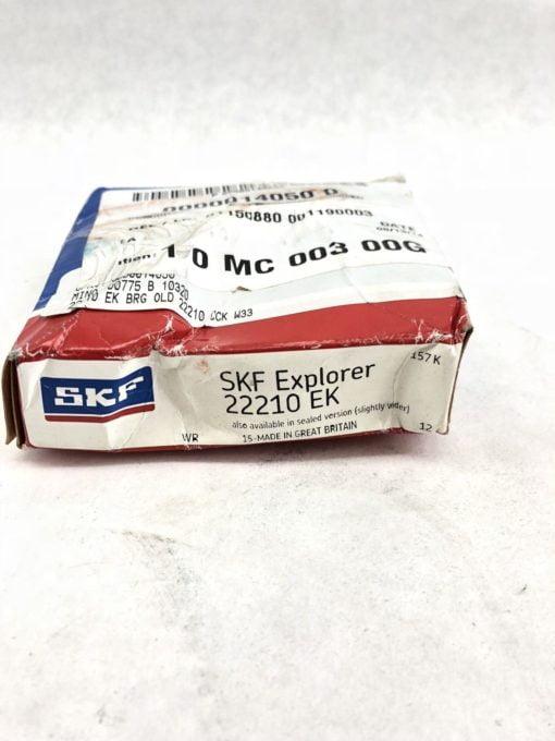 SKF EXPLORER 22210EK SKF NEW SPHERICAL ROLLER BEARING (J37) 2