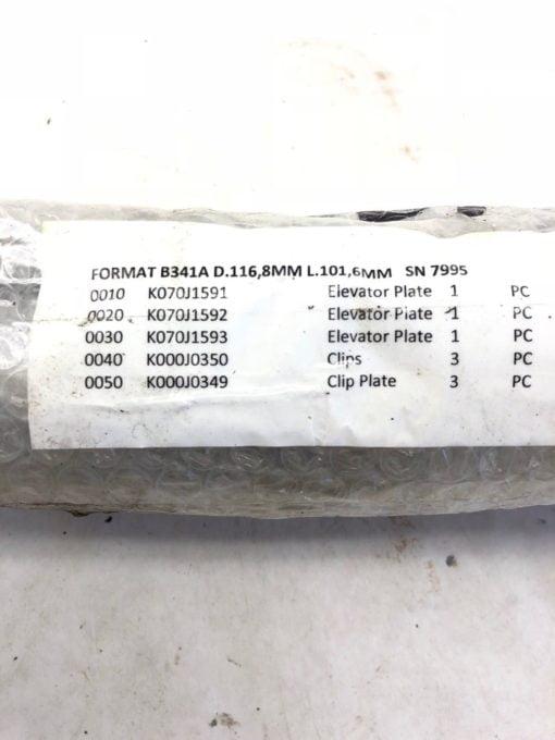NEW B341A D.116,8MM L