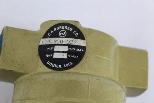 Norgren L12-600-OPG Filter Regulator *NEW* (B251) 2