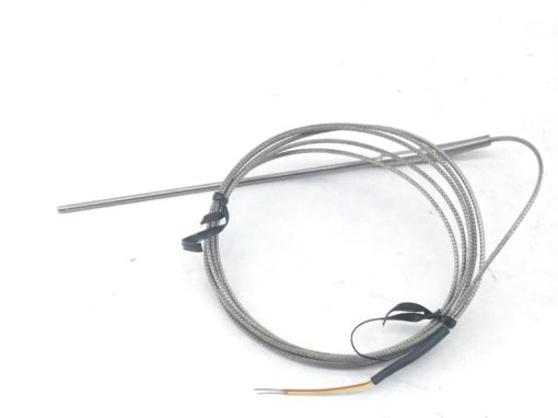 """TYPE """"K"""" THERMOCOUPLE PART # 135018 with ARMORED CABLE (J37) 1"""