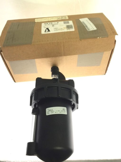 Alemite 250psi Air Line Lubricator 1in FPT Inlet-outlet 5916-2, NEW IN BOX, B96 1
