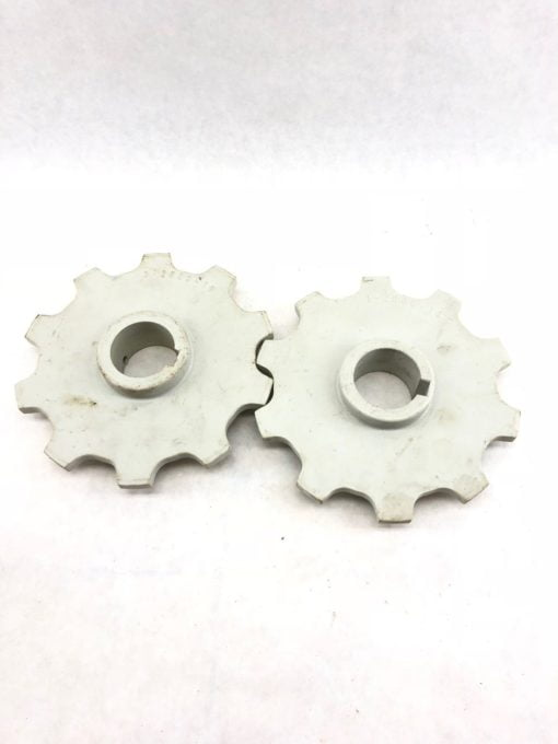 LOT OF 2 USED 3-2600-10 PLASTIC GEARS, SPROCKETS, FAST SHIP! (B433) 1