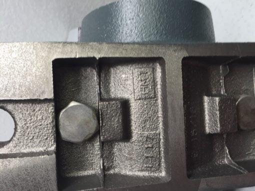 Royersford 3″ x 6″ Solid Cast Iron Journal BRG Babbit (B49) 4