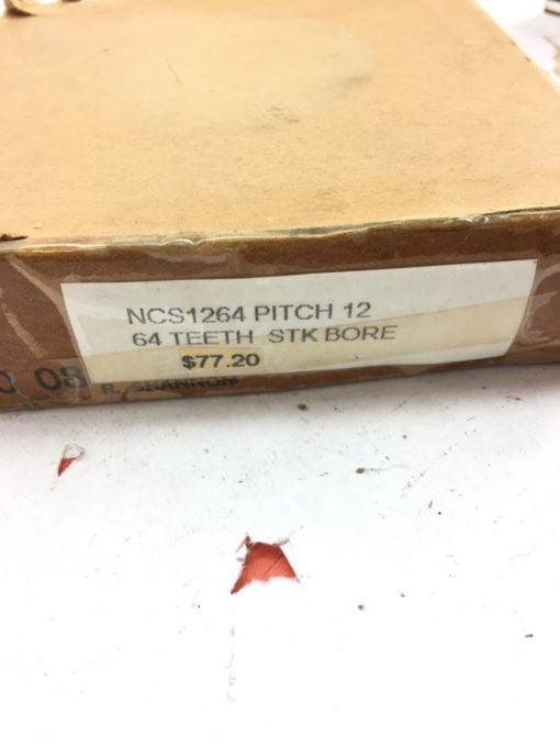 NEW IN BOX BROWNING NCS1264 External Tooth Spur Gear 64 Teeth 14