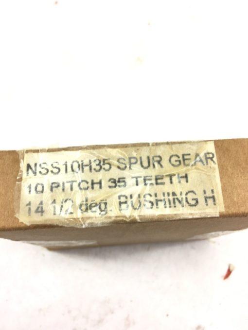 NEW IN BOX BROWNING NSS10H35 EXTERNAL SPUR GEAR, 35 TEETH, 10 PITCH, (B383) 2