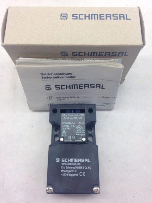 SCHMERSAL AZ16-02ZVRK-M20 SAFETY INTERLOCK SWITCH (A773) 1