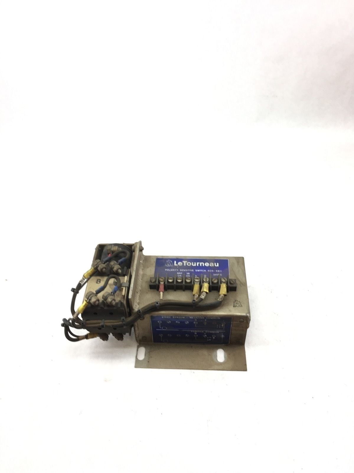 Letourneau 409 4811 Polarity Sensitive Switch With Vapor 35030479 Relay 22214 001