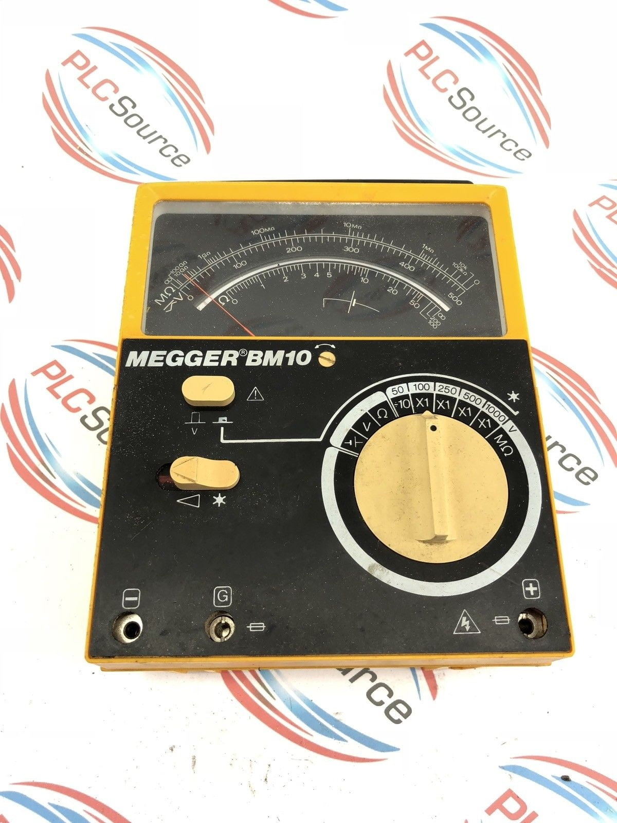 Analog Meter Megger Bm10 Megohmmeter 21810 Biddle Instruments