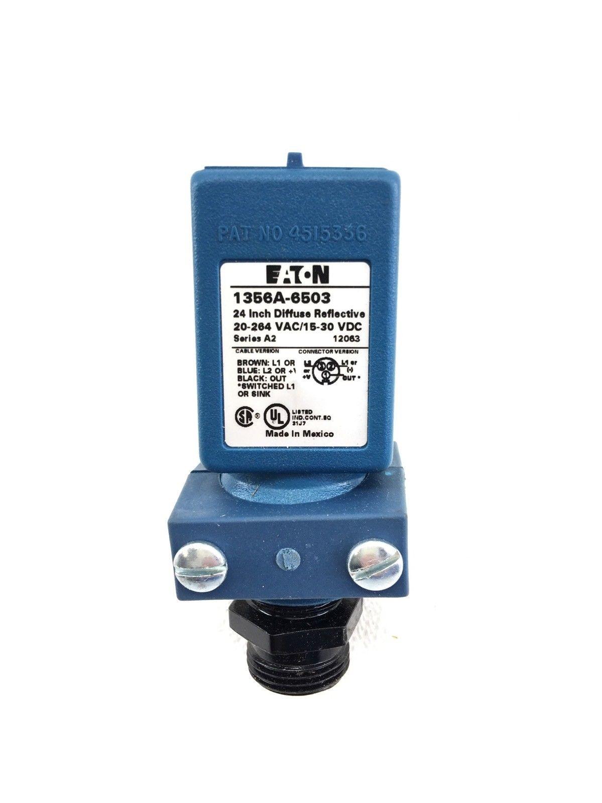 NEW EATONÂ 1356A-6503 24 INCH DIFFUSE REFLECTIVE, 20-264 VAC, 15-30 VDC, (A594) 2