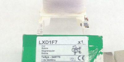 SCHNEIDER TELEMECANIQUE LXD1F7 COIL (A822) 1