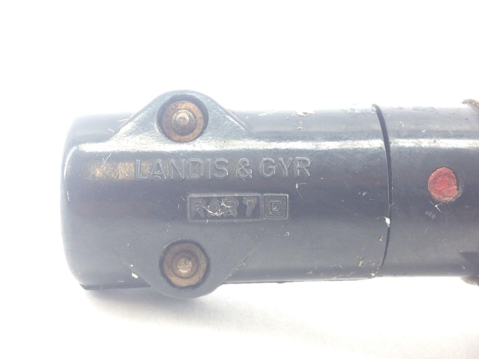LANDIS & GYR RAR7 FLAME DETECTOR PHOTOCELL (A823) 3