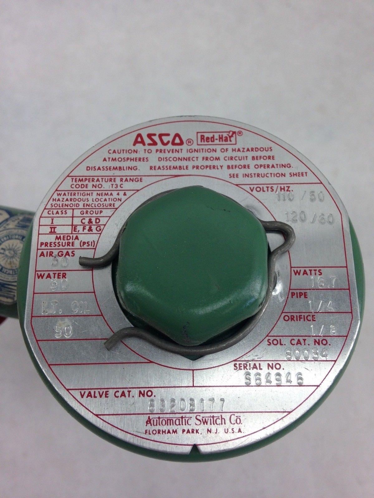 ASCO RED HAT 8320B177 SOLENOID VALVE (A827) 2