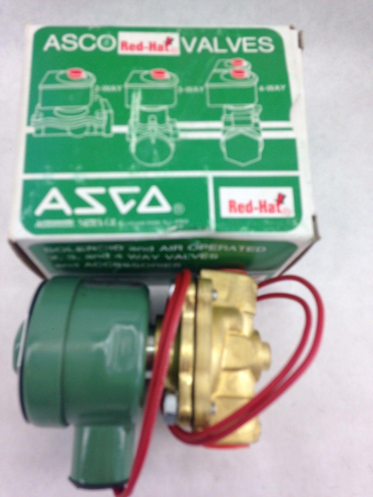 ASCO RED HAT 8211C6 SOLENOID VALVE (F282) 1