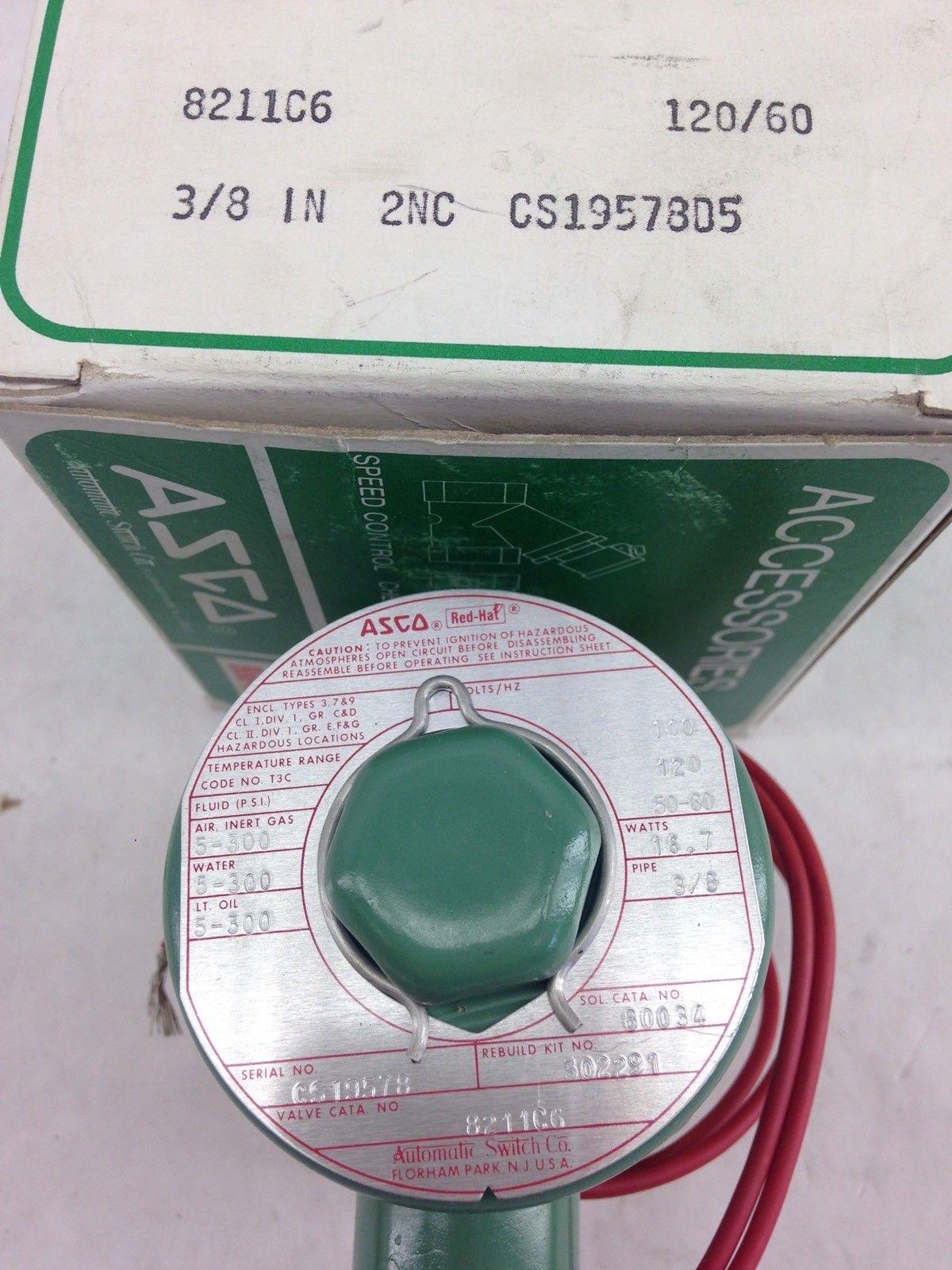 ASCO RED HAT 8211C6 SOLENOID VALVE (F282) 2