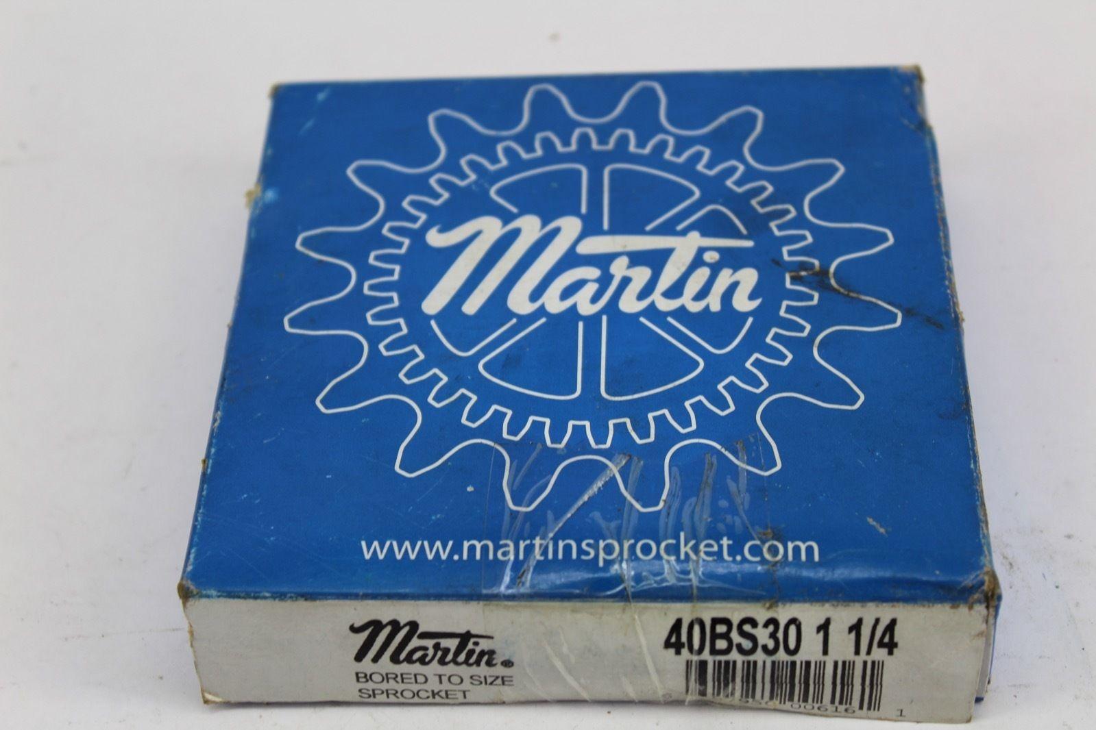 Martin 40BS30 1 1/4 *NEW* (F223) 1
