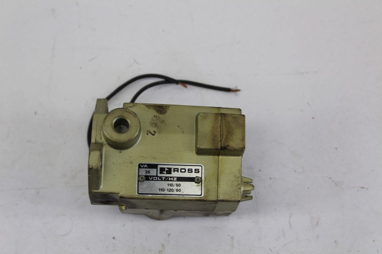 Ross 110/120V 50/60Hz 26VA Solenoid Valve *NEW* (F224) 1