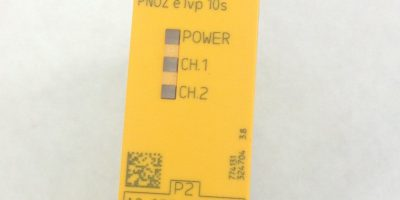 PILZ PNOZE1VP10S SAFETY EMERGENCY STOP RELAY 24VDC (A825) 1