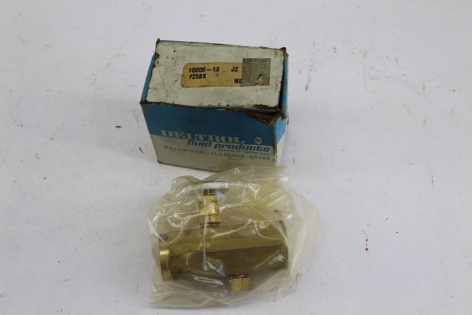 Deltrol 10000-13 / F25BK Brass Metering Valve *NEW* (F225) 1