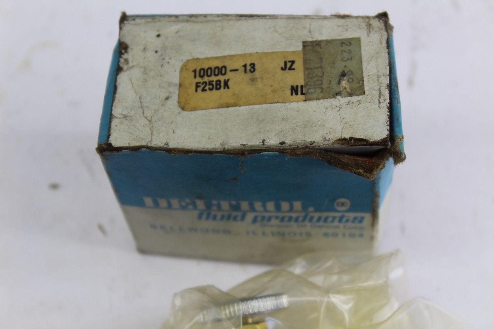 Deltrol 10000-13 / F25BK Brass Metering Valve *NEW* (F225) 2
