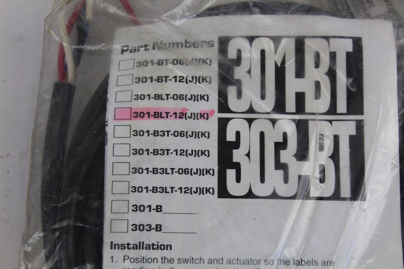 Sentrol Industrial Guard Switch 301-BLT-12(J)(K) *NEW* (B272) 2