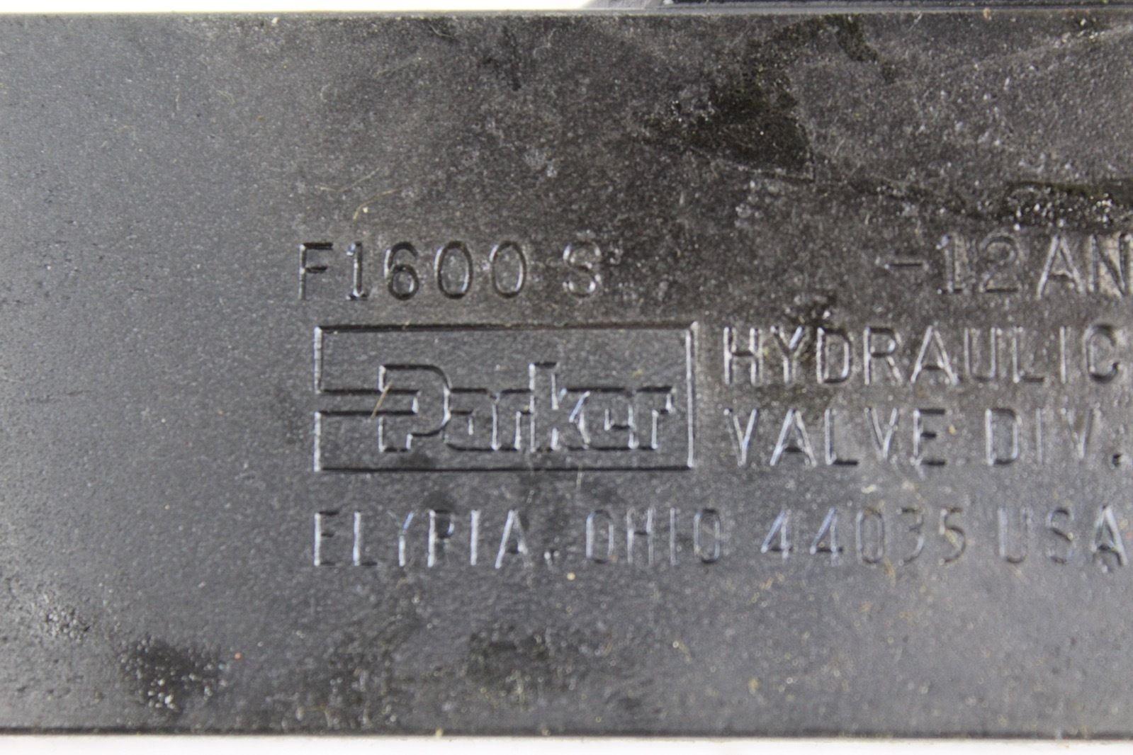 Parker Hydraulic Flow Control F1600S *NEW* (B272) 2