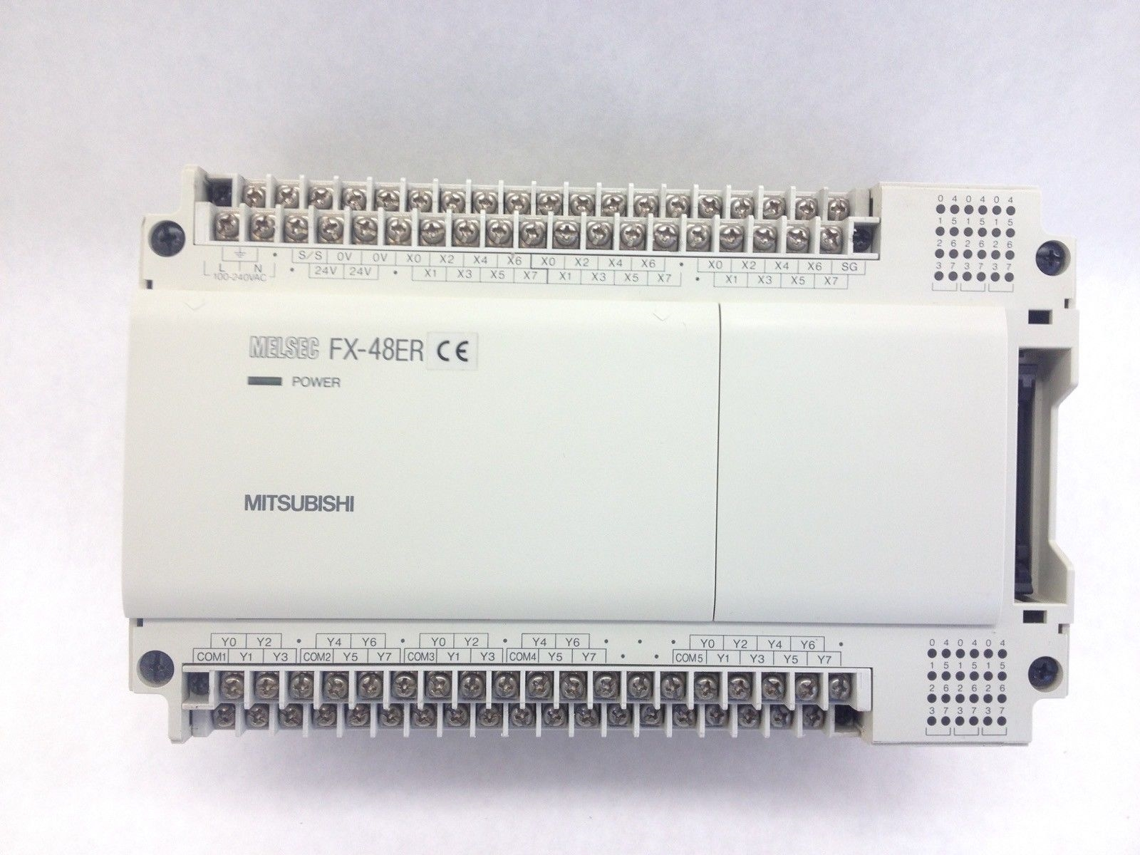 MITSUBISHI MELSEC FX-48ER-ES PROGRAMMABLE CONTROLLER (H352) 1