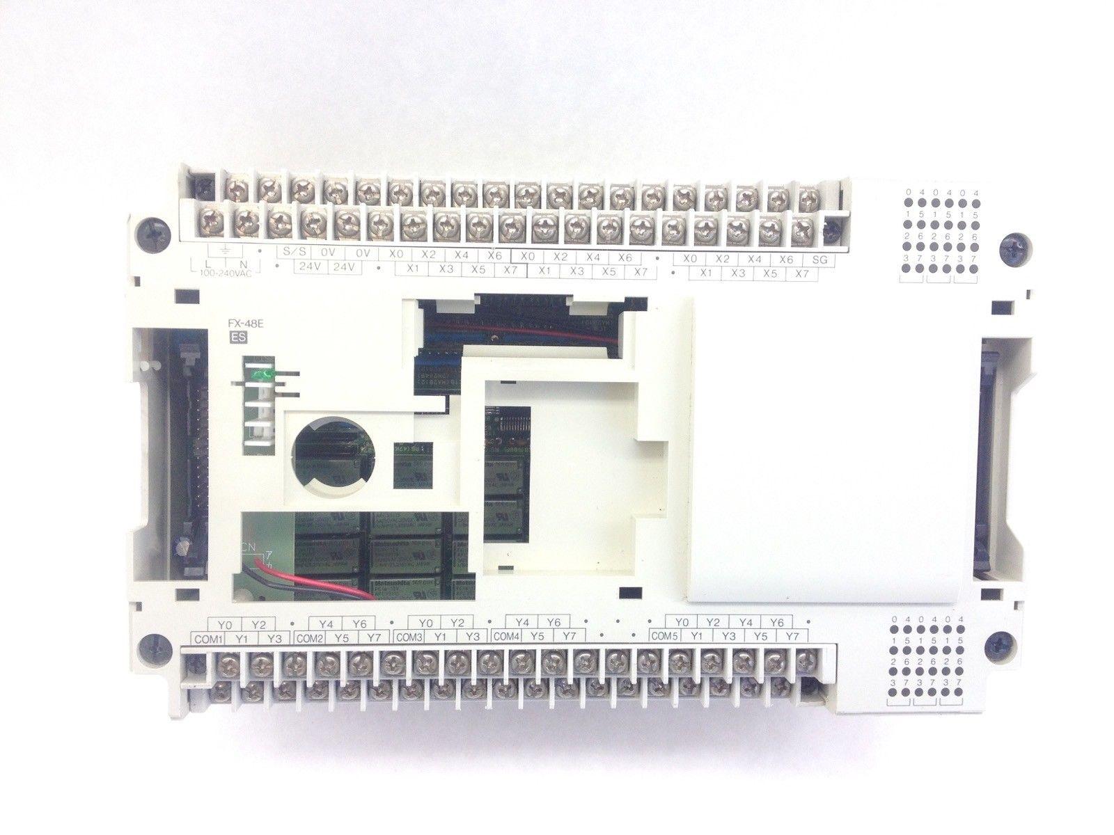 MITSUBISHI MELSEC FX-48ER-ES PROGRAMMABLE CONTROLLER (H352) 2