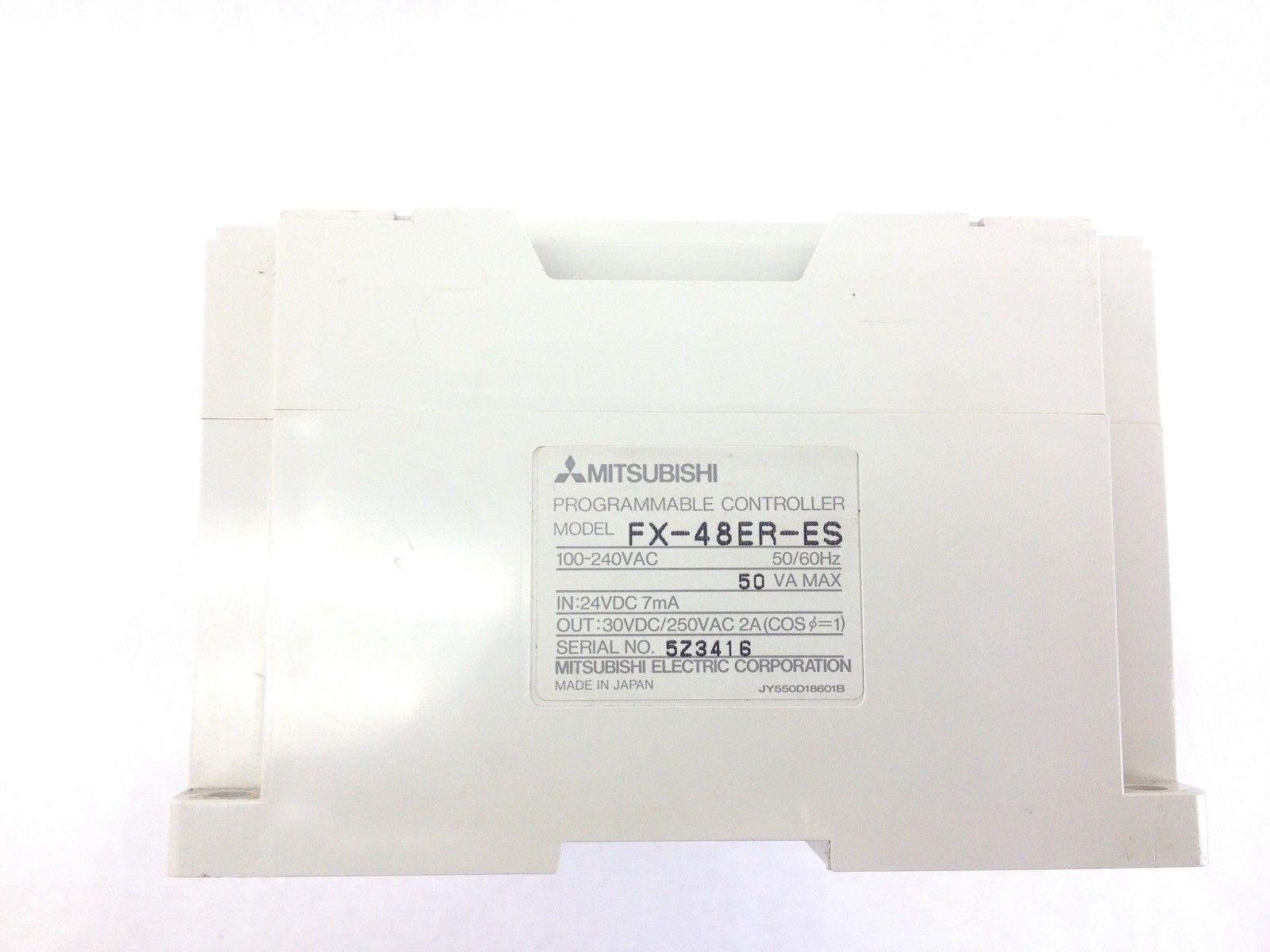 MITSUBISHI MELSEC FX-48ER-ES PROGRAMMABLE CONTROLLER (H352) 3