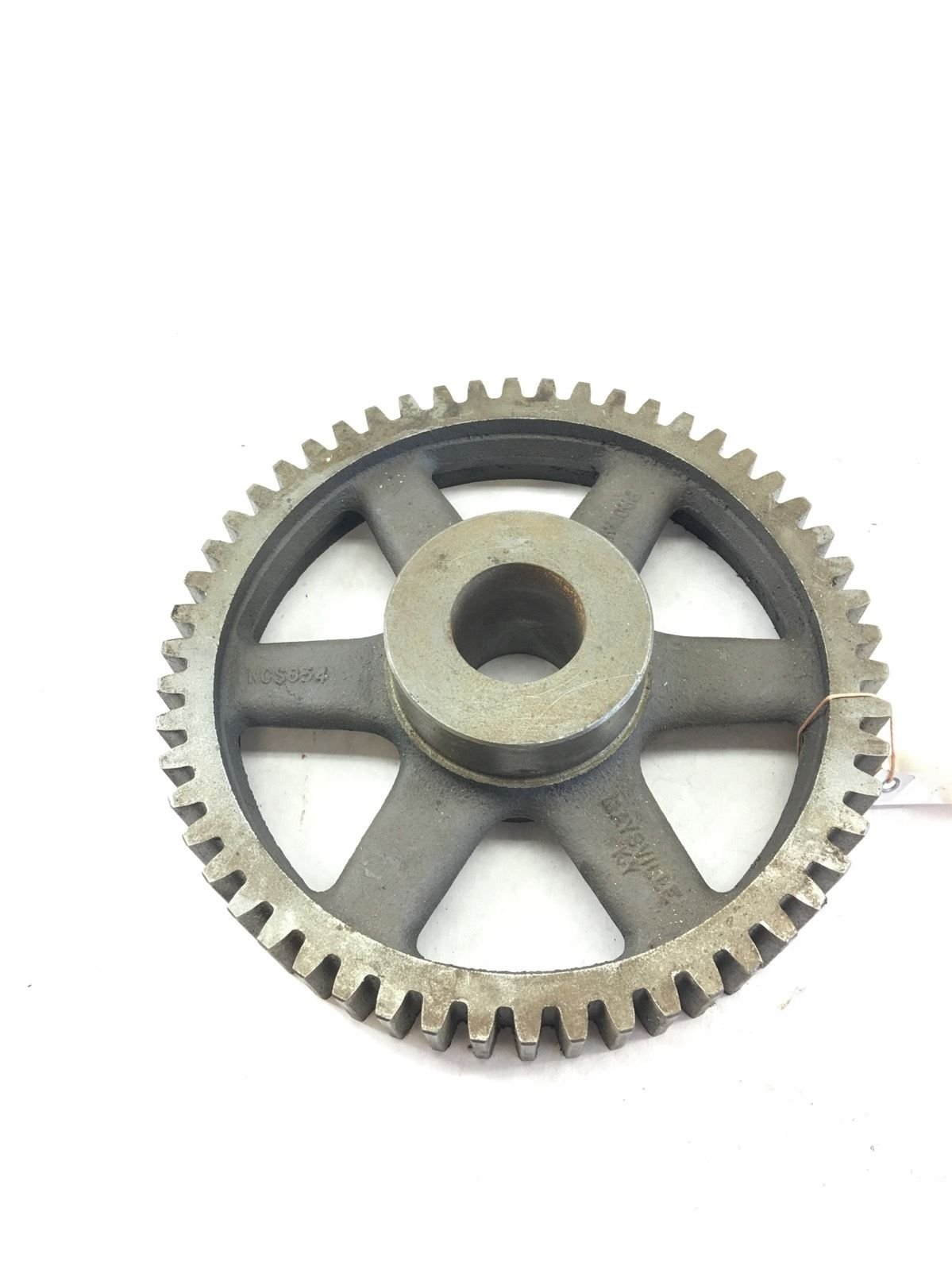 NEW NO BOX BROWNING NCS654 14 1/2 SPUR GEAR CAST IRON, 6� PITCH, 54 TEETH, B385 1