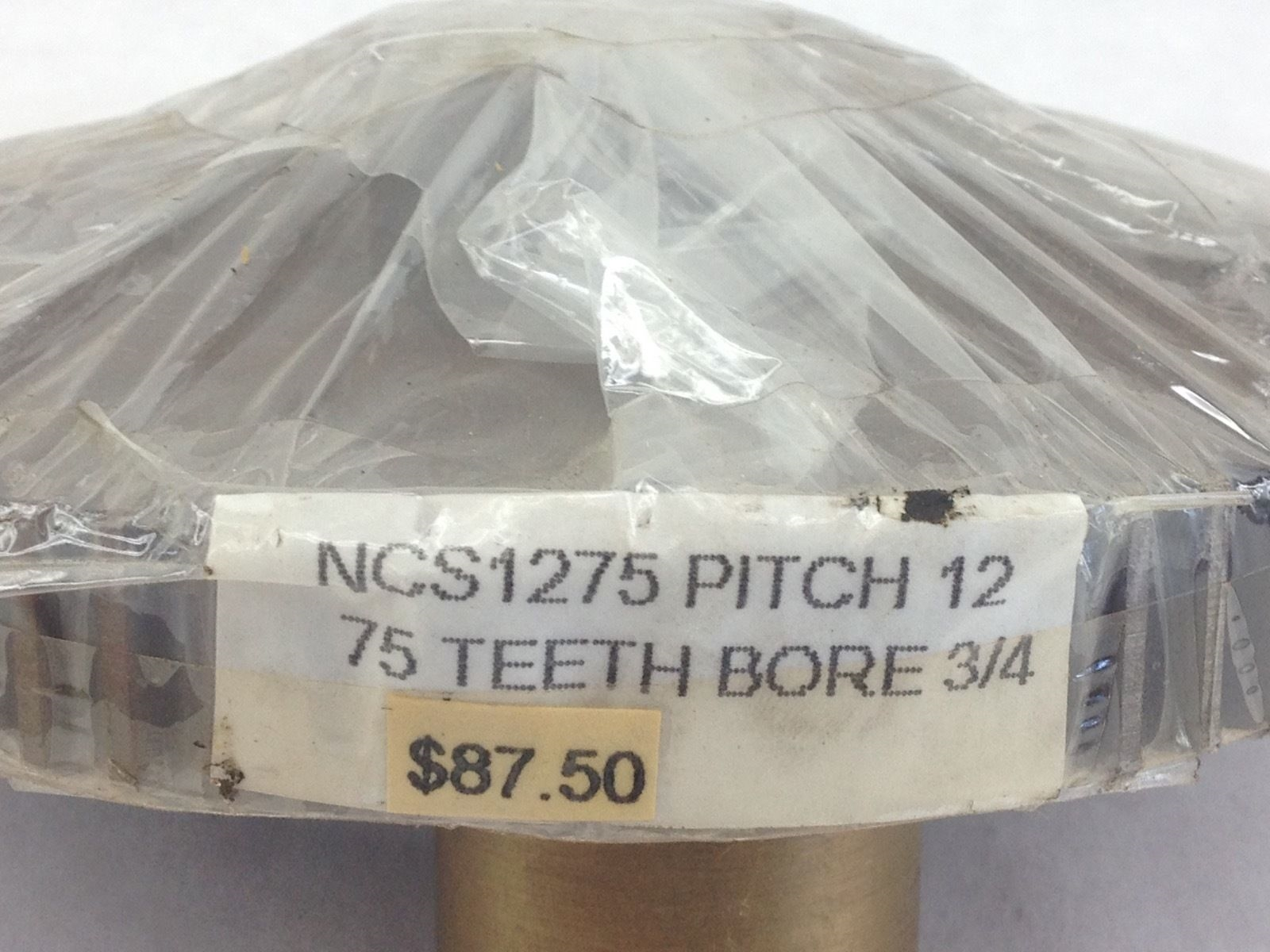 NEW! NO BRAND NCS1275 SPUR GEAR 12P 75T 3/4� BORE, KEYWAY FAST SHIP!!! (J24) 2